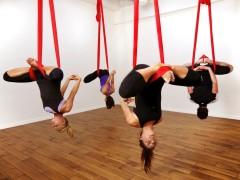 Aerial Silks Yoga