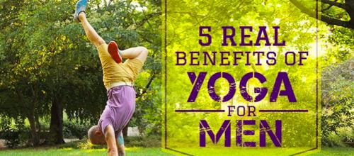 Benefits of Regular Yoga for Men