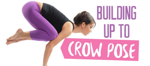 How to Build Up to Doing Crow Pose