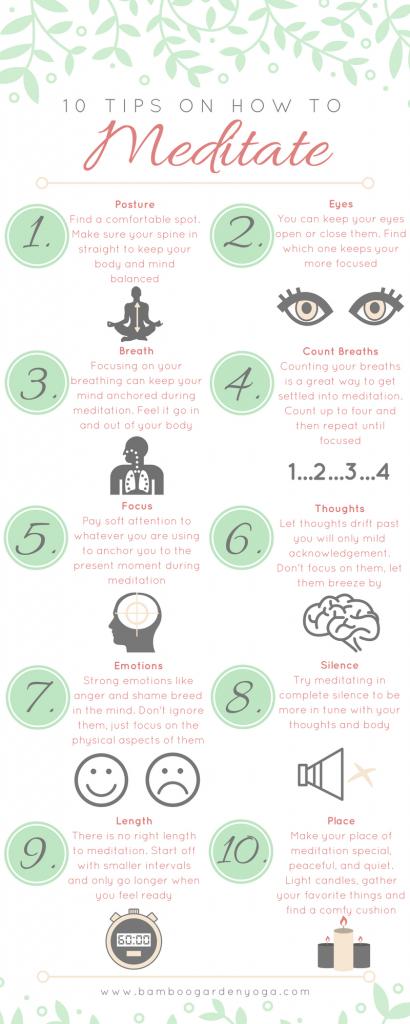 Tips for Meditation From Bamboo Garden Yoga