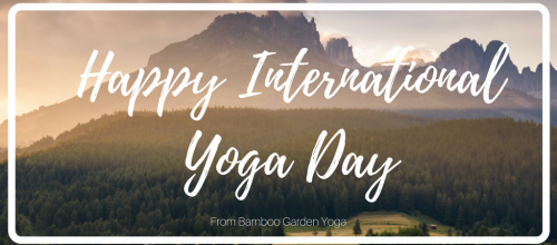 Happy International Yoga Day!