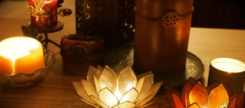 Announcement from Delray Beach Yoga: Garden Candlelit Yoga