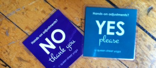 Yoga Studios Are Now Handing Out Consent Cards