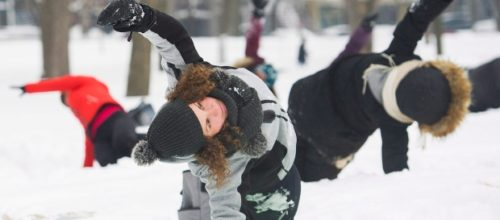 Move Over Hot Yoga, Snowga is Now Trending